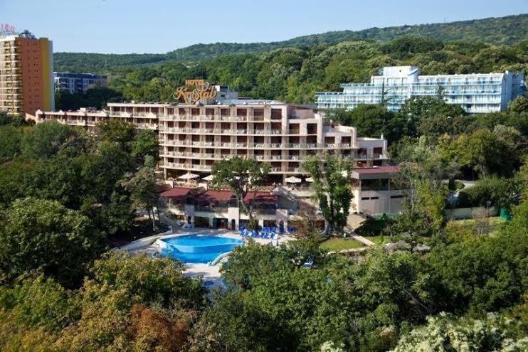 Болгарія, готель Kristal 4*, до пляжу 350м.