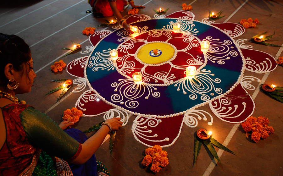 diwali composition in hindi