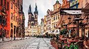 Романтическая пара: Прага + Дрезден.