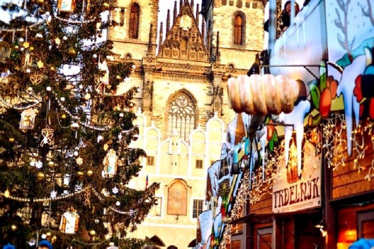 На Рождество в Прагу!