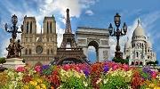 Цветущая весна в Париже на майские ...