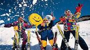 Новогодняя Снежная сказка в горах с лыжами !!!