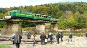 Карпатський Трамвай  +  Скелі Довбуша