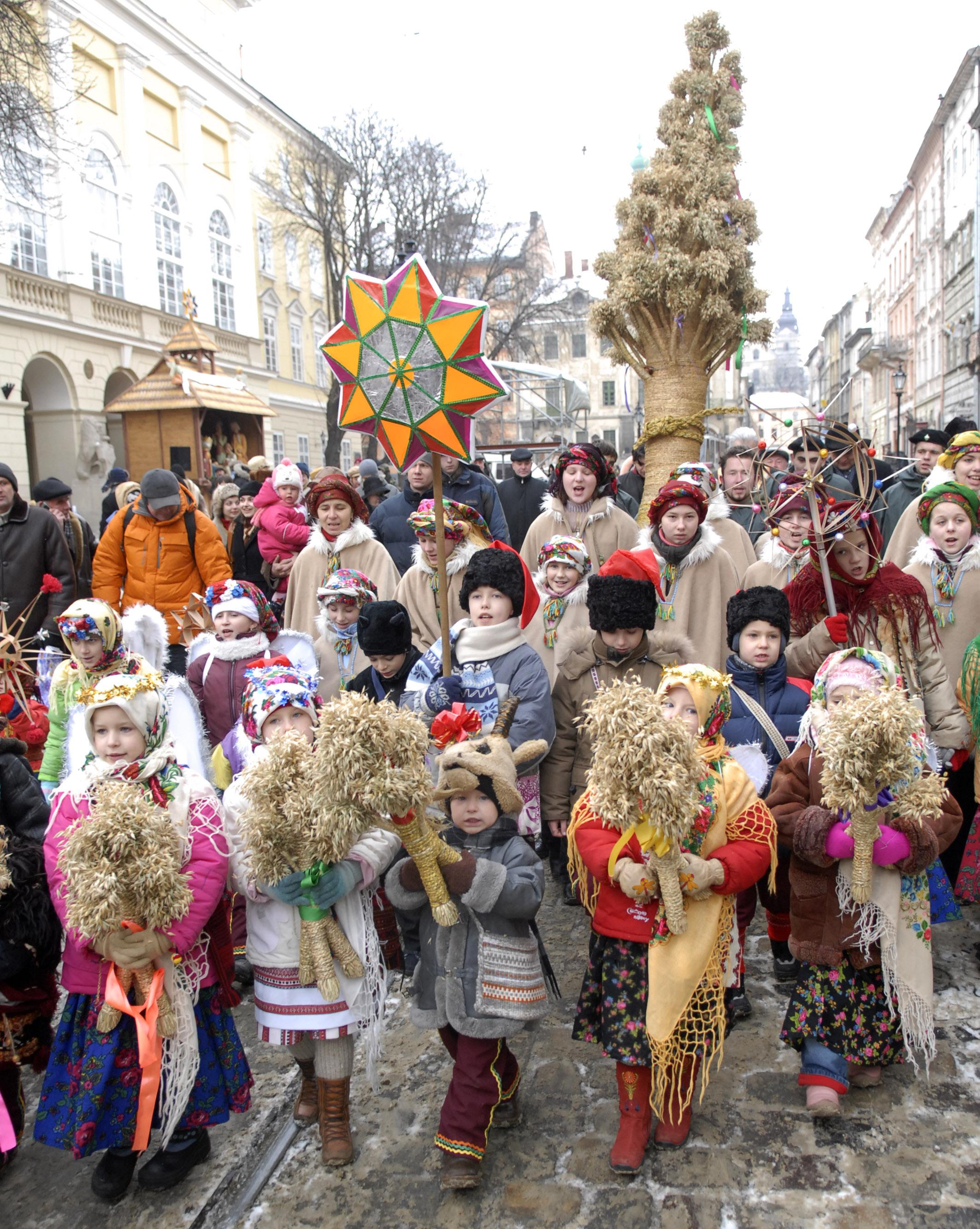 До Львова на Різдво та Свято пампуха
