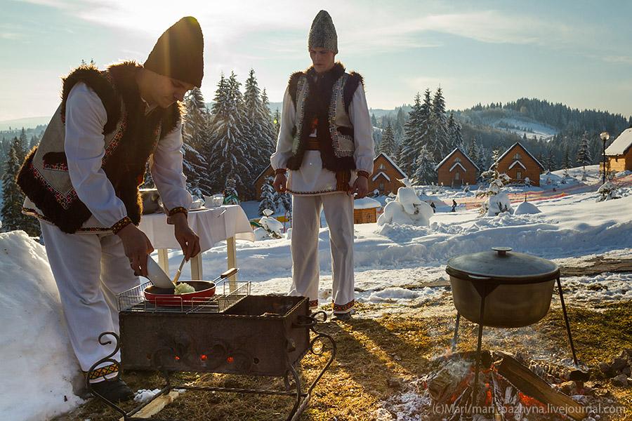 Новий рік по-гуцульськи!