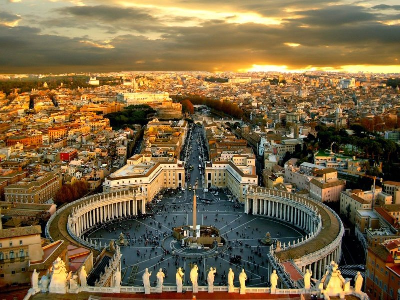 Туры париж рим