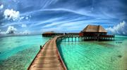 Мальдивы - белоснежные пляжи райского острова