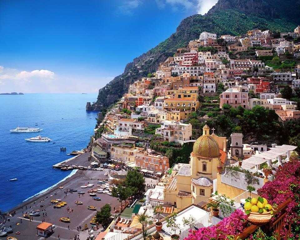 Італія. Море  ще не було доступніше