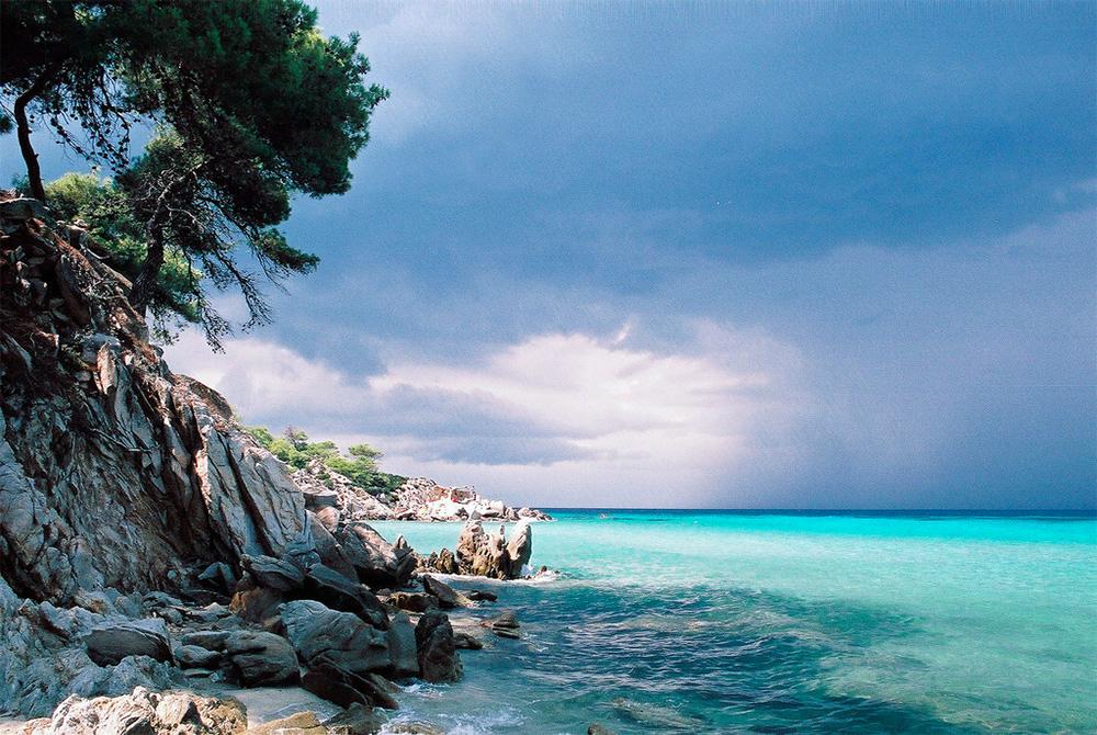 Греція. Халкідіки 6 днів на морі.