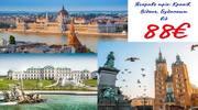 Яскраве тріо: Краків, Відень, Будапешт