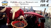 Новий рік у Венеції та Трієсті