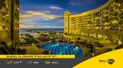Перша лінія, простора галявина для засмаги, безкоштовний трансфер в Дубай, відмінна тераса біля басейну - в готелі Bahi Ajman Palace 5 *!