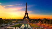 Романтичный город-Париж