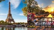 Экскурсионный тур   Амстердам + Париж