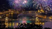 Зустріч Нового року 2019 в Будапешті.
