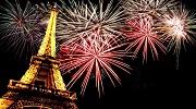 Сказочная новогодняя ночь в Париже