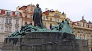 Памятник Яну Гусу